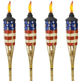 3535501149 stars and strips tiki torch